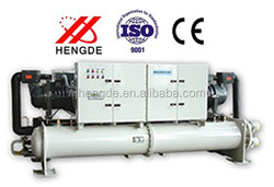 Reliable Operation Energy-saving Semi-closed Water Type Cooled Screw Chiller