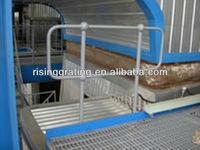 hot dip galvanized ball-jointed metal railing