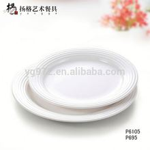 European melamine white cheap dinner bmw license plate