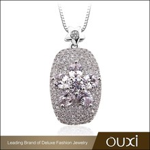 OUXI new design wholesale chunky statement meaningful charm pendant necklace