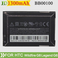 high quality BB00100 For HTC Wildfire G8 Legend G6 and My Touch 3G Battery from junboda