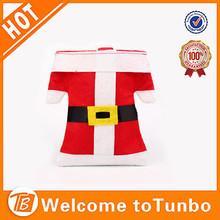 Alibaba china santa candy bag commercial christmas decorations wholesale