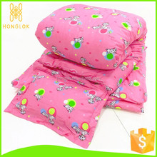 pink baby kids hand animal pattern printed pure cotton kid 100 cotton quilt