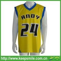 Custom Made Sublimation Printing Basketball Top