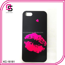 Hot lip Glowing phone case for wholesale