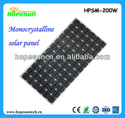 Cheap solar panel 100W 200W 250W 300W monocrystalline solar panel price