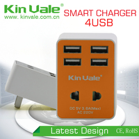 New Style small quick cell phone charger,portable usb charger