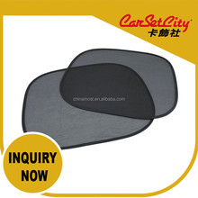 (CS-27144 c) CarSetCity No Suction Cap Static Sun Blinds Windshield Side Windows Sunshades for Car Sunvisor