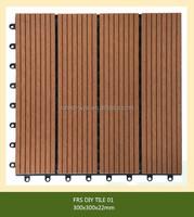 FESTECH WPC DIY tiles/ Cheap Portable Garden WPC Fence/eco friend