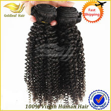natural color wholesale kinky curly hair product