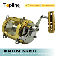 2 Speed Big Game Jigging Fishing Reel 4 Bearing Sea Saltwater Fish 80W in stock