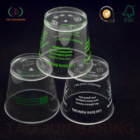 plastic jelly cups mousse cups multifunctional Guangzhou Factory Produced ice cream containers