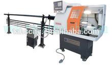 Torno mecanico universal CK0640A cnc torno máquina con barra alimentador de taian haishu