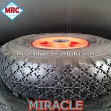 high quality Rubber wheel 3.00-4 for wheelbarrow