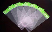 Custom printed cellophane self adhesive plastic bag