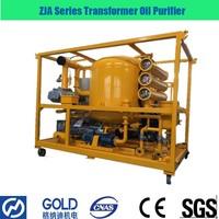 ZJA Series Transformer Oil Vacuum Purifier , Degasification, Dehydration, Filtration Machine
