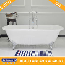 Dual Bath Style Cast Iron Clawfoot Tubs designed for 2 Persons