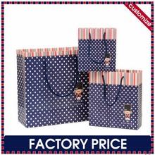 Factory price custom printed luxury gift paper bag