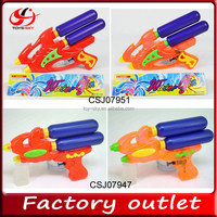 Wholesale Toy Water pistol double nozzle and bottle Water gun plastic mini water gun