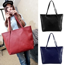2015 Latest Women's Ladies Synthetic Leather Vintage Style Casual Tote Handbags SV017799