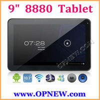 9 inch 8880 dual core VIA Android 4.2.2 Tablet PC 1.52GHz, External 3G Wi-Fi & Capacitive Touch, OPNEW 1080P