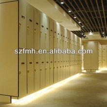 High pressure boards Z shape gym locker