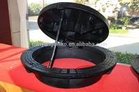 cast iron manhole cover with locking made in China