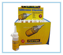 best quality 60ml liquid silicone glue with bottle Packing