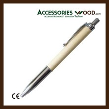Hot selling cheap wooden pen with engraved custom logo