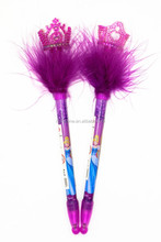 Printing feather lighter pen,crown pen