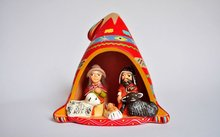 Hand made christmas ornaments/handicrafts peruvian