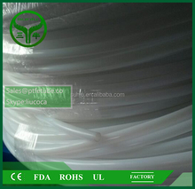 100% TEFLON pure virgem PTFE tubo Fluoropolymer tubulação