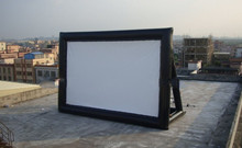2014 comercial use advertising screen for advertising event giant christmas inflatable