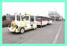 new model adults electric traceless tourist train