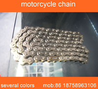 chinese motorcycle parts nickel color motorcycle wheel Chain 428