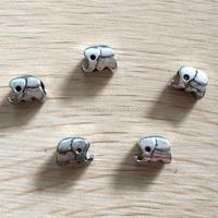 zinc alloy beads elephant shape / elephant metal beads for jewelry making