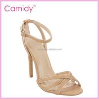 beautiful girls cheap price high heel sandals