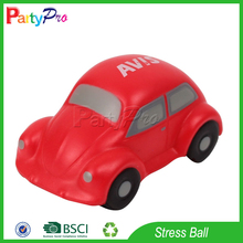 Partypro Hot Sale 2015 Promotional Gift Small Car Toy Shaped Anti Stress Ball