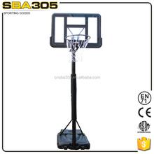 steel pole portable whple sale basketball stand