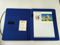 New design of A4 elastic folders, PVC and nylon material office folder