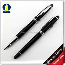 Classical Black Chrome Copper metal pen for gift and promotional