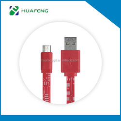 2016 New arrival factory supply Micro USB 2.0 Data Cable,Micro Usb Cable For Charging And Data sync