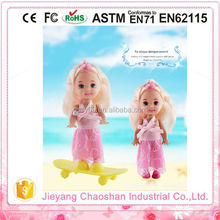 Fashionable Doll Clothes 3.5 inch Mini Real Educational Doll