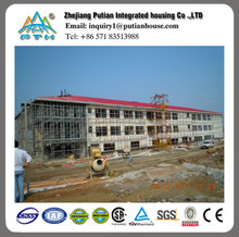 Multi-Floor prefabricated Steel Structure Building for Hotel