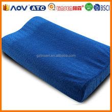 Hot sale Guangzhou factory comfortable memory foam bed wedge/pillow