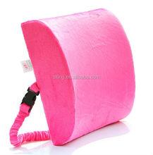 3d Ventilative Mesh Lumbar Memory Foam Back Cushion Alleviates Lower Back Pain