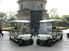 11 Seater Electric Sightseeing Car with raincover, 48V/3.7kw