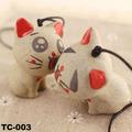 2014 Jingdezhen joyas de cerámica Los modelos de pareja de moda colgante Bolsa