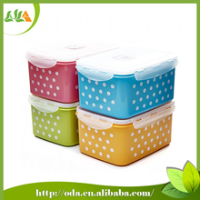 3pcs Hot Sale BPA Free Promotional Plastic Food Container