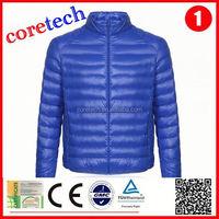 High quality cheap light thin down jacket factory